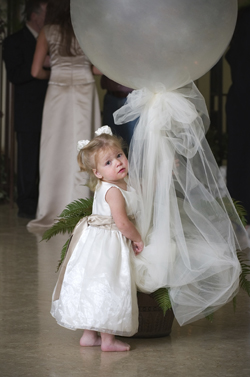 Flower Girl in Wedding Video